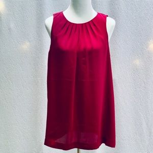 """Express"" Fuschia Silky Mini Dress, Sz L"